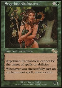 Argothian Enchantress - Urza's Saga