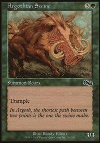 Argothian Swine - Urza's Saga