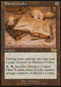 Barrin's Codex - Urza's Saga