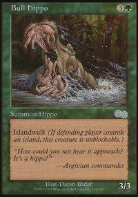 Bull Hippo - Urza's Saga