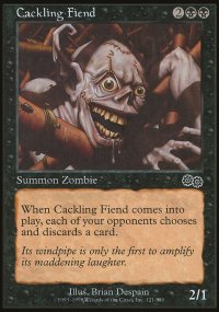 Cackling Fiend - Urza's Saga