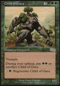 Child of Gaea - Urza's Saga