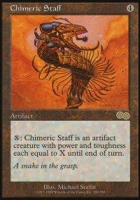 Chimeric Staff - Urza's Saga
