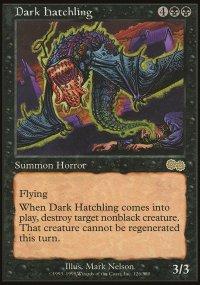 Dark Hatchling - Urza's Saga