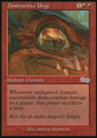Destructive Urge - Urza's Saga