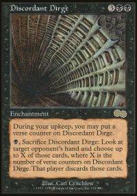 Discordant Dirge - Urza's Saga