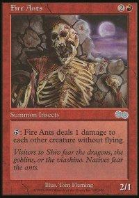 Fire Ants - Urza's Saga