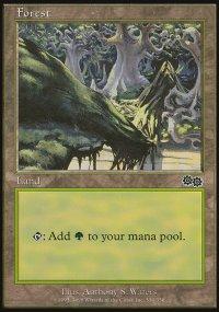Forest 4 - Urza's Saga
