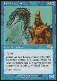 Gilded Drake - Urza's Saga