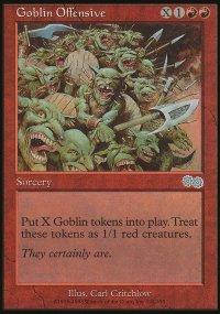 Goblin Offensive - Urza's Saga