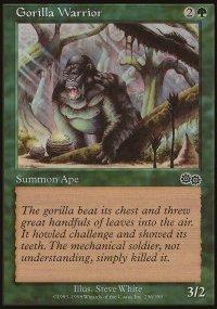 Gorilla Warrior - Urza's Saga