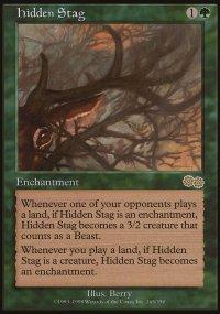 Hidden Stag - Urza's Saga