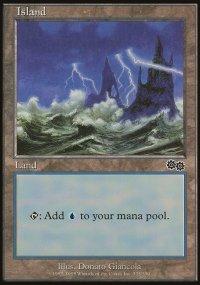 Island 1 - Urza's Saga
