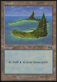 Island 2 - Urza's Saga