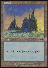 Island 3 - Urza's Saga