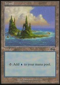 Island 4 - Urza's Saga