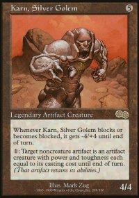 Karn, Silver Golem - Urza's Saga