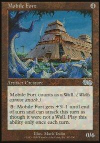 Mobile Fort - Urza's Saga