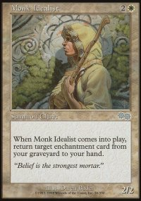 Monk Idealist - Urza's Saga
