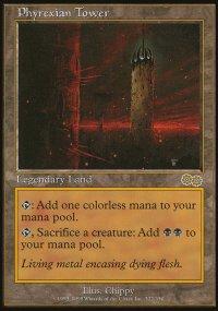 Phyrexian Tower - Urza's Saga