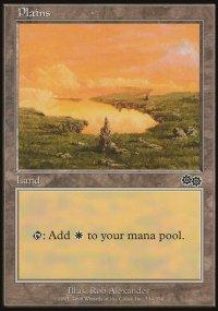 Plains 4 - Urza's Saga