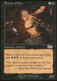 Priest of Gix - Urza's Saga