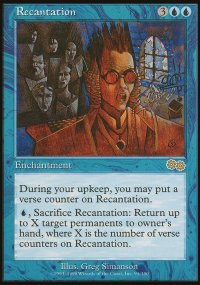 Recantation - Urza's Saga