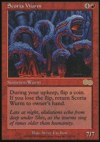 Scoria Wurm - Urza's Saga