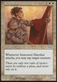 Seasoned Marshal - Urza's Saga