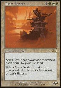 Serra Avatar - Urza's Saga