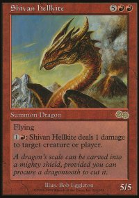 Shivan Hellkite - Urza's Saga