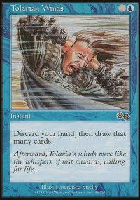 Tolarian Winds - Urza's Saga