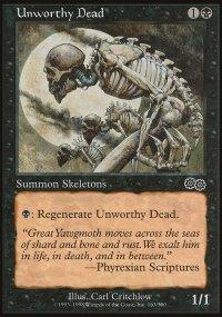 Unworthy Dead - Urza's Saga