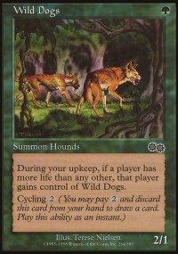 Wild Dogs - Urza's Saga