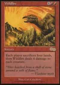 Wildfire - Urza's Saga