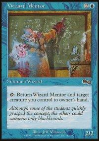 Wizard Mentor - Urza's Saga