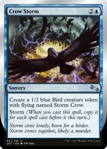 Crow Storm - Unstable