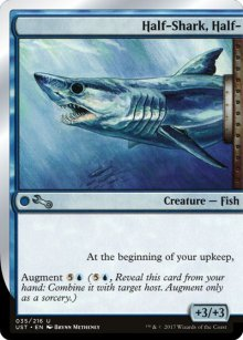 Half-Shark, Half- - Unstable