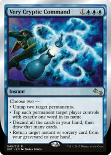 Very Cryptic Command 2 - Unstable