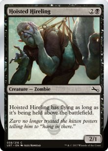 Hoisted Hireling - Unstable