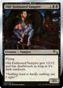 Old-Fashioned Vampire - Unstable