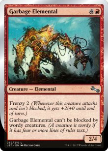 Garbage Elemental 1 - Unstable