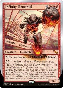 Infinity Elemental - Unstable