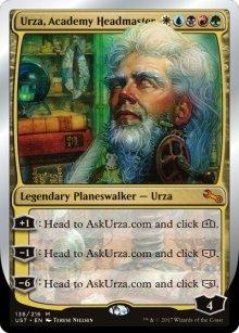 Urza, Academy Headmaster - Unstable