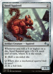Steel Squirrel - Unstable
