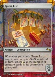 Guest List - Unstable