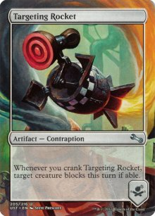 Targeting Rocket - Unstable