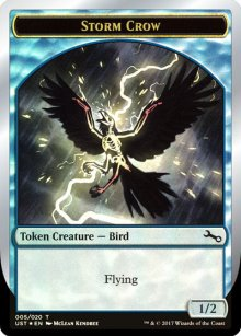 Storm Crow Token - Unstable