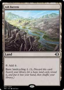 Ash Barrens - Digital Cards