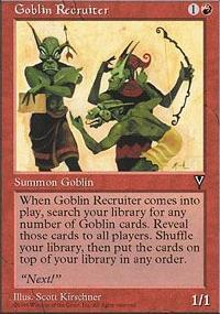 Goblin Recruiter - Visions